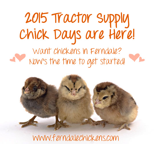 2015 tractor supply chick days michigan